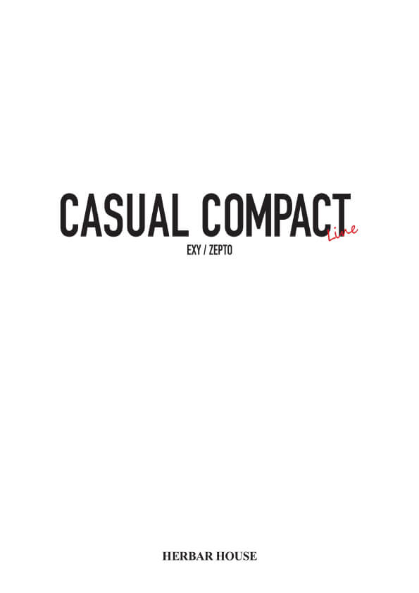 CASUAL COMPACT 表紙