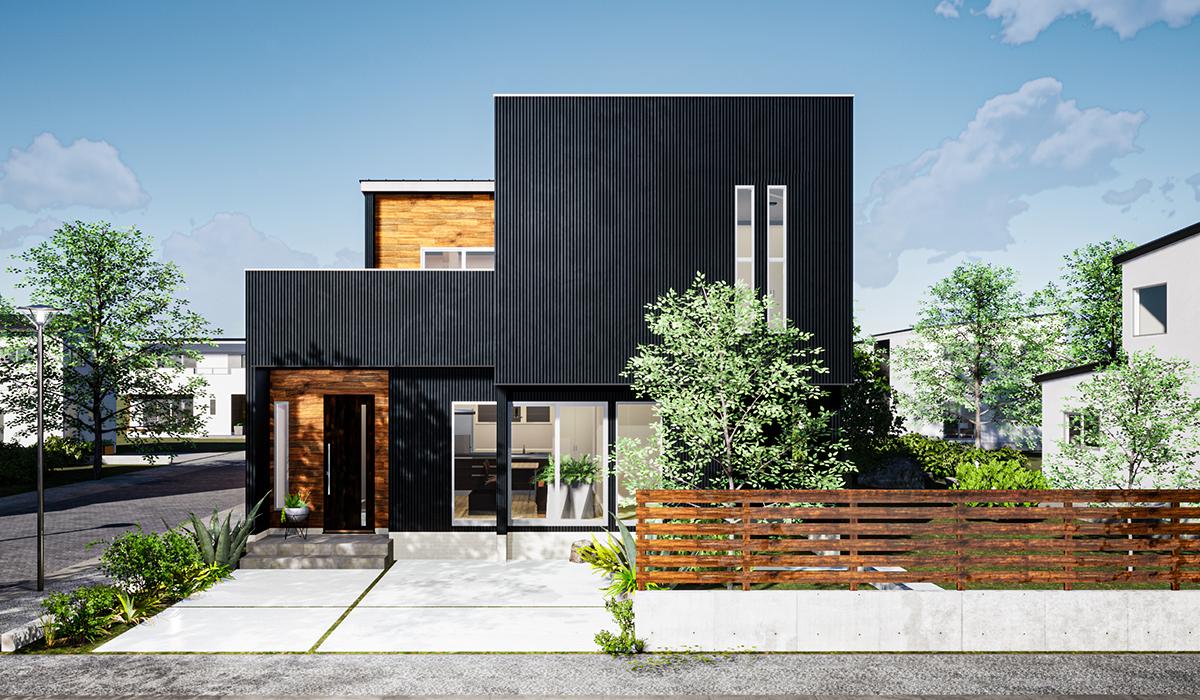 ガルバリウム+無垢住宅 ORGAのイメージ