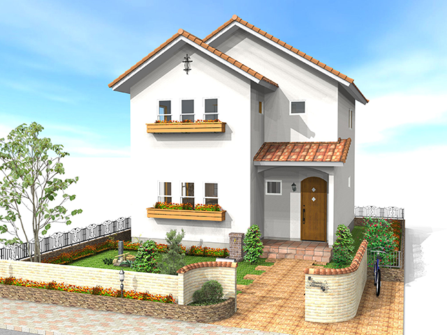 南欧プロヴァンス風ナチュラル住宅 RONA のイメージ