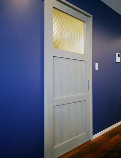 リビング入り口のドア