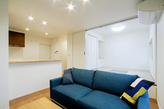 将来を考えた安心設計、共有型二世帯住宅