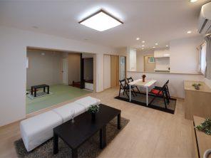 こだわりモダン和室と床暖房のある家 ハーバーハウス燕三条支店