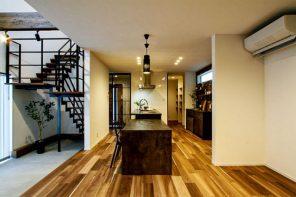 インナーテラス&ウッドデッキが暮らしと空間にゆとりを生む。開放感抜群のLDKと家事ラク動線のある家 ハーバーハウス燕三条支店